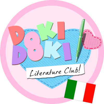 DOKI DOKI LITERATURE CLUB PATCH ITA